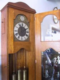 Long Case Westminster Chime Oak Case
