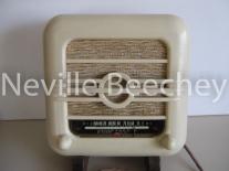 Bakelite Radio Front