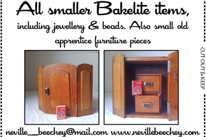 Neville Beechey: All smaller Bakelite items