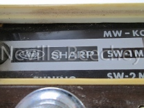 Sharpe Car Radio