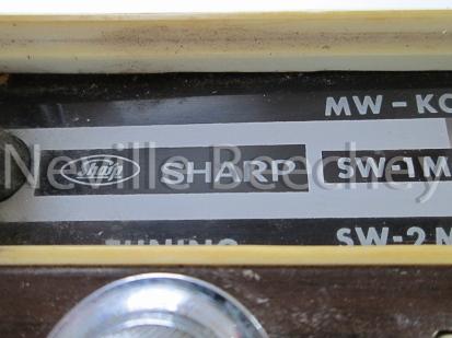 Sharpe Car Radio