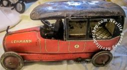 Lehmann DRGM Litho Sedan Car Tin Toy