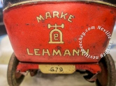 Lehmann DRGM Litho Sedan Car Tin Toy