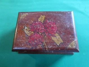 Poker work trinket box BEFORE the Beechey treatment
