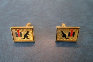 International Harvester cufflinks